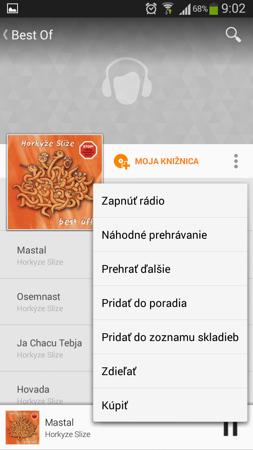 Krajinách vrátane slovenska službu predaja hudby hudba google play